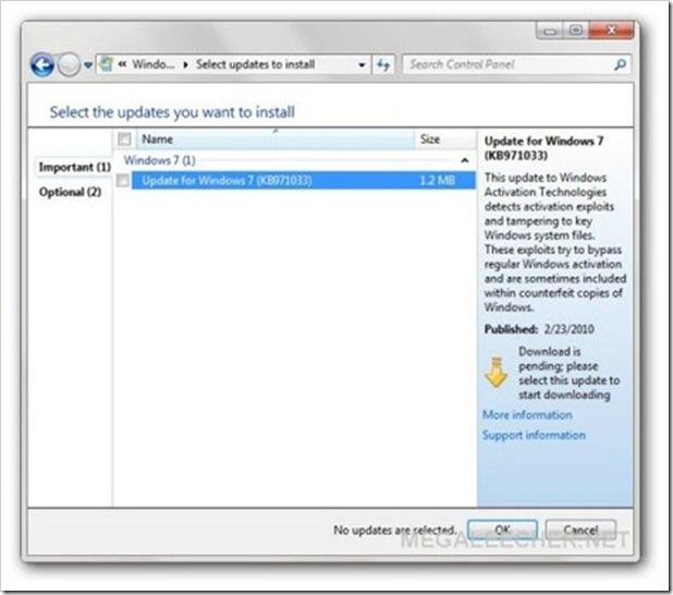 Windows7watupdateKB971033