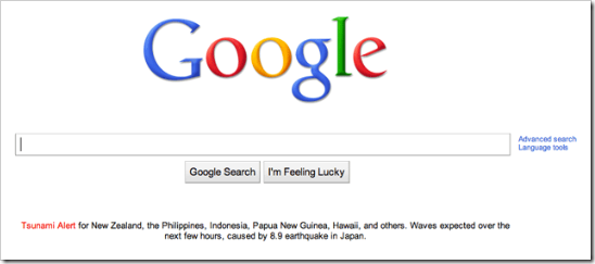 Google-tsunami-alert