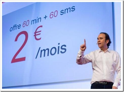 PARIS: Internet provider Free new mobile service
