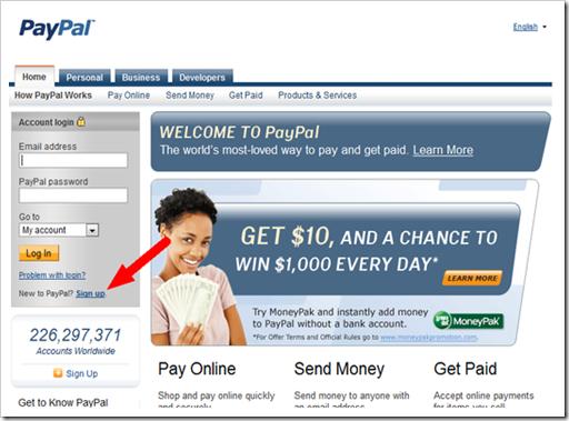 paypal-registracija